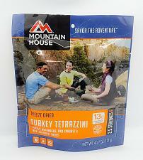 Buy Mountain House Freeze Dried Food TURKEY TETRAZZINI 2 SERVINGS 4.27 OZ Sealed