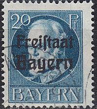 Buy GERMANY Bayern Bavaria [1919] MiNr 0157 A ( O/used )
