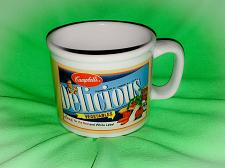 Buy VINTAGE CAMPBELL'S DELICIOUS VEGETABLES COLLECTORS SOUP MUG/ BOWL NICE