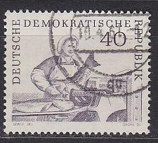 Buy GERMANY DDR [1961] MiNr 0820 ( OO/used ) Schiffe