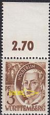 Buy GERMANY Alliiert Franz. Zone [Württemberg] MiNr 0002 yv II ( **/mnh )