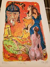 Buy A.C. Hollingsworth- Artist Proof Signed Lithograph- Quixote's Fantasy