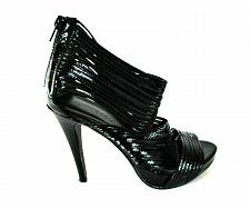 Buy Chinese Laundry Black Strappy Peep Toe Heels Shoes Women's 6 M (SW8)