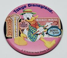 Buy AUTHENTIC DONALD DUCK TOKYO DISNEYLAND 3-INCH COLLECTIBLE PINBACK BUTTON RARE