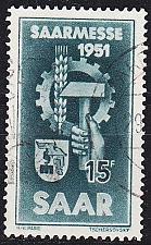 Buy GERMANY Saar [1951] MiNr 0306 ( O/used )