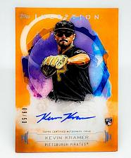 Buy MLB KEVIN KRAMER PIRATES AUTOGRAPHED 2019 TOPPS INCEPTION RC SP/50 MNT