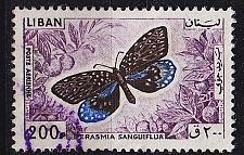 Buy LIBANON LEBANON LIBAN [1965] MiNr 0907 ( O/used ) Schmetterlinge