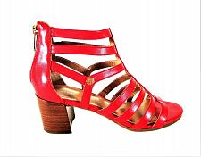Buy Tommy Hilfiger Red Gladiator Block Heel Open Toe Sandals Women's 8 M (SW10)