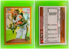 Buy NFL CLINTON PORTIS WASHINGTON REDSKINS 2009 TOPPS CHROME GOLD REFRACTOR /649 MNT