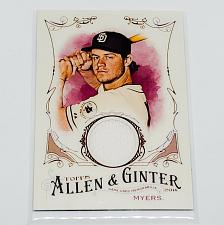 Buy MLB WIL MYERS SAN DIEGO PADRES 2016 TOPPS ALLEN & GINTER GAME-WORN JERSEY MNT