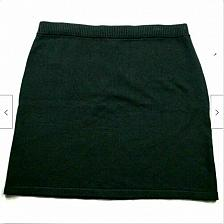 Buy NWT J Jill Womens A Line Pull On Sweater Skirt Size Medium Solid Black