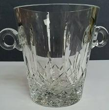Buy Hand cut glass ice bucket 24 % lead crystal