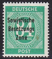 Buy GERMANY Alliiert SBZ [Allgemein] MiNr 0211 ( **/mnh )