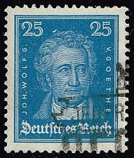 Buy Germany #358 Johann Wolfgang von Goethe; Used (4Stars) |DEU0358-01XRS