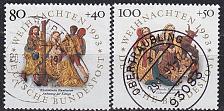 Buy GERMANY BUND [1993] MiNr 1707-08 ( O/used ) Weihnachten