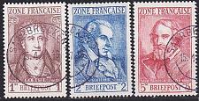 Buy GERMANY Alliiert Franz. Zone [Allgemein] MiNr 0011-13 ( O/used )