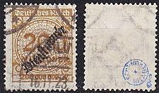 Buy GERMANY REICH Dienst [1923] MiNr 0083 ( O/used ) [01]