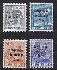 Buy GERMANY Alliiert SBZ [Allgemein] MiNr 0182 ex ( **/mnh ) [04]
