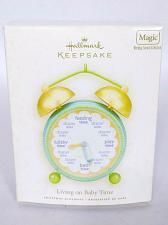 Buy Hallmark Keepsake Christmas Ornament Living On Baby Time 2008