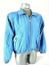 Buy KAELIN womens Small petite L/S blue FULL ZIP 2 pockets FULLY LINED jacket (X)P