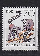 Buy GERMANY DDR [1986] MiNr 3022 ( **/mnh ) Tiere