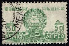 Buy Mexico #C71 Pyramid of the Sun; Used (2Stars) |MEXC071-01XRS