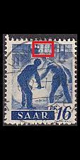 Buy GERMANY Saar [1947] MiNr 0213 PF I ( O/used ) Plattenfehler