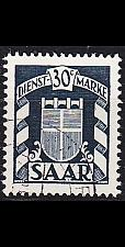 Buy GERMANY Saar [Dienst] MiNr 0034 ( O/used )