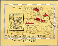 Buy GERMANY DDR [1989] MiNr 3237 Block 97 ( OO/used )