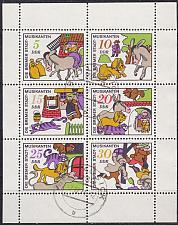 Buy GERMANY DDR [1971] MiNr 1717-22 Kleinbogen ( OO/used )