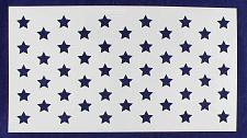 "Buy 50 Star Field Stencil 14 Mil -12""H X 22L"" - Painting /Crafts/ Templates"