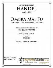 Buy Handel - Ombra mai fu (Alto)