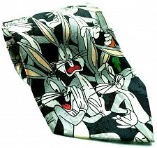 Buy Looney Tunes Mania Bugs Bunny All Over Print Facial Expressions Novelty Necktie