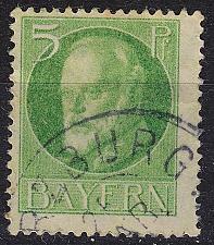 Buy GERMANY Bayern Bavaria [1916] MiNr 0112 A ( O/used )