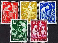 Buy NIEDERLANDE NETHERLANDS [1962] MiNr 0785-89 ( **/mnh )