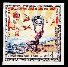 Buy LAOS [1963] MiNr 0135 B ( **/mnh ) UNO