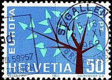 Buy SCHWEIZ SWITZERLAND [1962] MiNr 0757 ( O/used ) CEPT