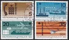Buy GERMANY DDR [1983] MiNr 2770-73 ( OO/used ) Post
