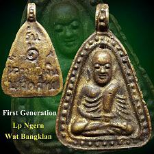 Buy ANTIQUE LP NGERN WAT BANGKLAN THAI BUDDHA AMULET REAL POWERFUL MAGIC THAILAND