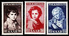 Buy GERMANY Saar [1952] MiNr 0338-40 ( **/mnh )