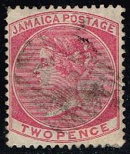 Buy Jamaica #19 Queen Victoria; Used (5.25) (0Stars) |JAM0019-01