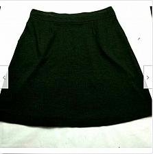 Buy NWT J Jill Womens A Line Pull On Pleated Skirt Size Medium Solid Black