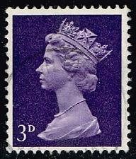 Buy Great Britain #MH5 Machin Head; Used (0.25) (3Stars) |GBRMH005-04XBC