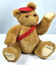 "Buy Hallmark Postbear Express Plush Stuffed Animal 12"""