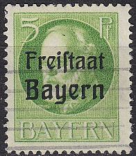 Buy GERMANY Bayern Bavaria [1919] MiNr 0153 A ( O/used )