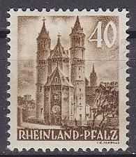 Buy GERMANY Alliiert Franz. Zone [RheinlPfalz] MiNr 0039 y VI ( */mh )