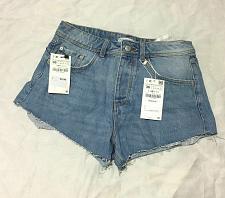 Buy Zara Trafaluc Z1975 DENIM Jean women Shorts size 4