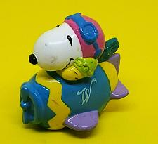 Buy VINTAGE 1990's LICENSED EASTER WHITMAN'S CHOCOLATE SNOOPY 3-INCH FIGURINE