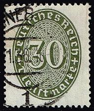 Buy Germany #O77 Official - Numeral; Used (2Stars) |DEUO077-03XRS