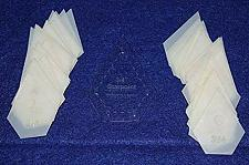 """Buy Mylar 3/4"""" Starpoint -51 Piece Set - Quilting / Sewing Templates"""